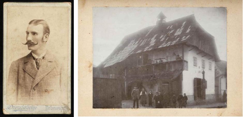Portret Dragutina Lermana i njegova rodna kuća u Krlovcu
